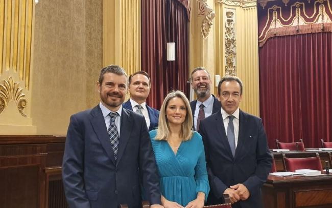 Cs Baleares vota a favor de que la presidenta Armengol comparezca ante la Diputación Permanente el próximo lunes