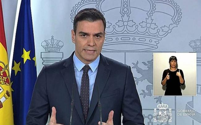 Sánchez advierte de que 'llegarán días muy duros' y pide prepararse psicológicamente