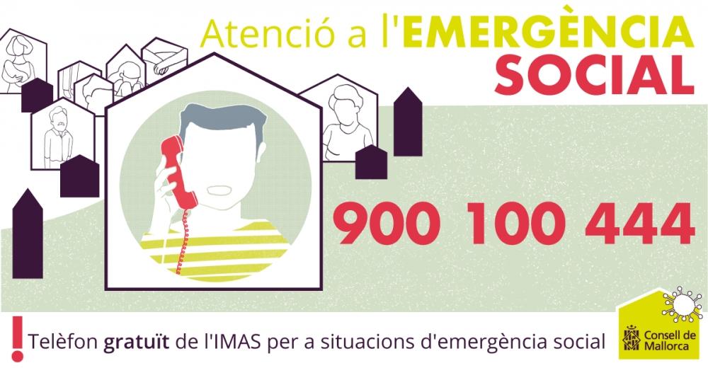 El Consell habilita un telèfon gratuït per a emergències socials
