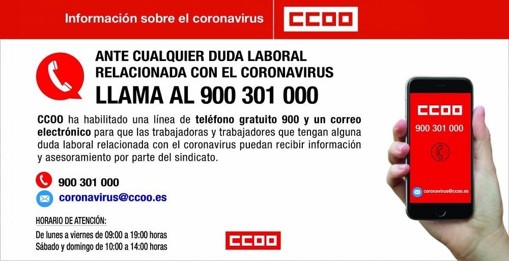 CCOO y UGT demandan más protección social para los trabajadores y trabajadoras afectados por la crisis