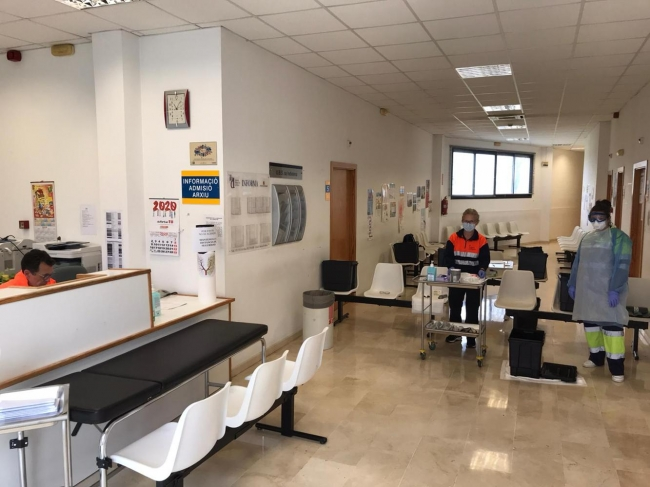 Salud crea tres nuevas unidades COVID-exprés en Mallorca para la recogida rápida de muestras y hacer pruebas para detectar el coronavirus