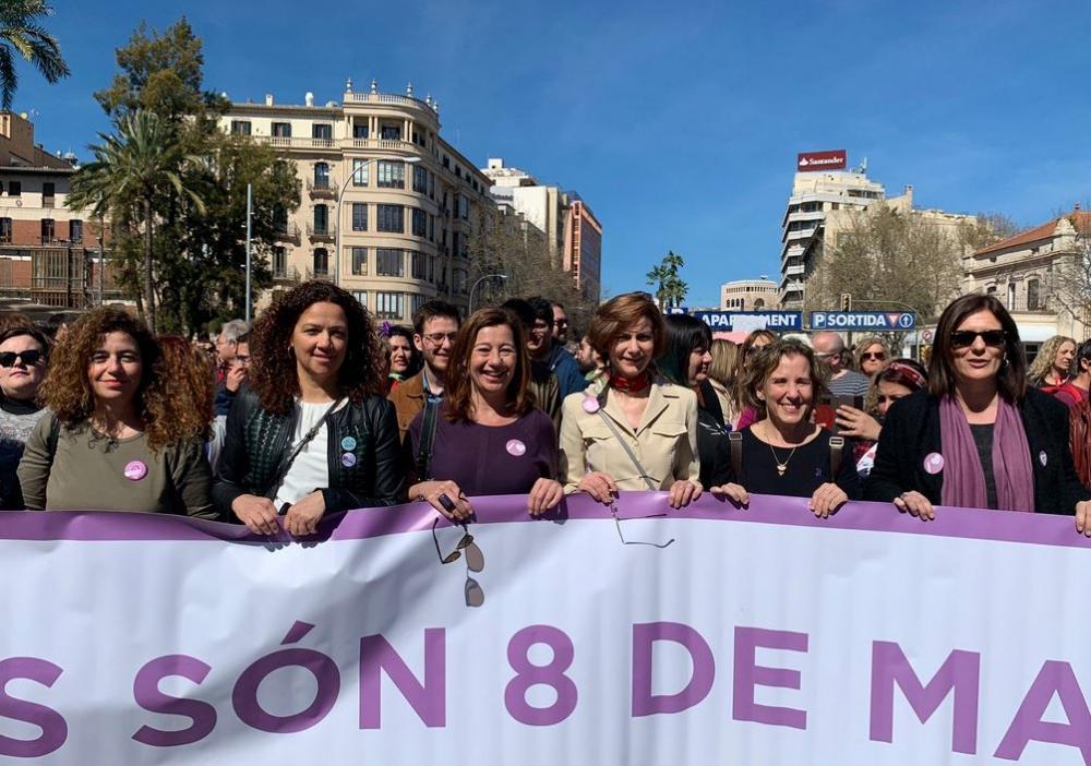Vox en el Consell de Mallorca espera que Cladera pida perdón por alentar el 8-m