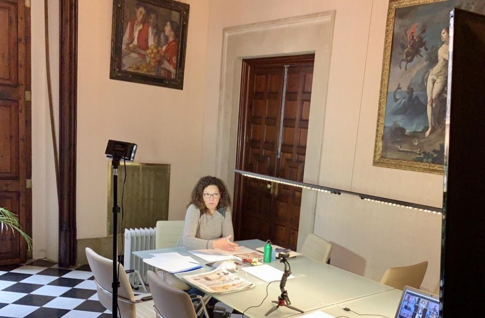 La presidenta Cladera cierra la rueda de contactos con alcaldes y alcaldesas de Mallorca