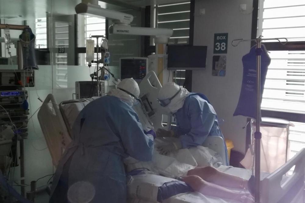 Gracias a su mejoría se ha podido retirar la respiración mecánica a cinco pacientes