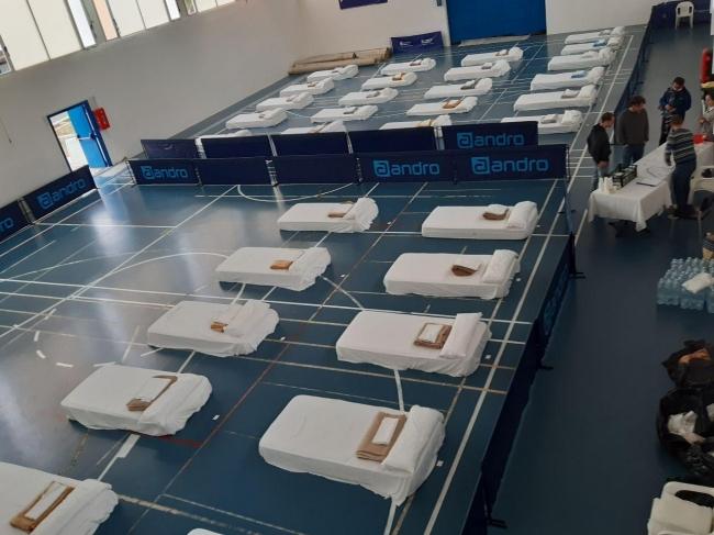 El Consell de Mallorca garantiza la salubridad de las instalaciones del polideportivo de Sant Ferran