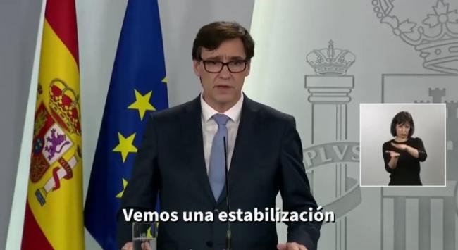El ministro de sanidad dice que España está en una fase de 'estabilización'
