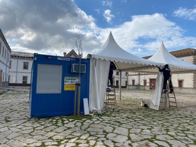 Salud crea una nueva unidad COVID-exprés de recogida de muestras en el sector sanitario de Tramuntana