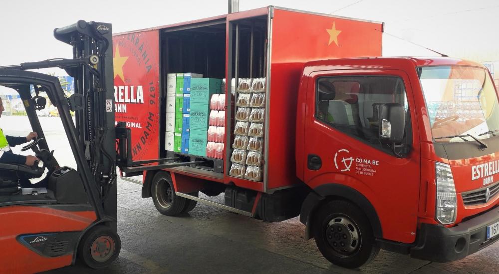 Damm Distribución Integral lanza un servicio de reparto a domicilio en Mallorca
