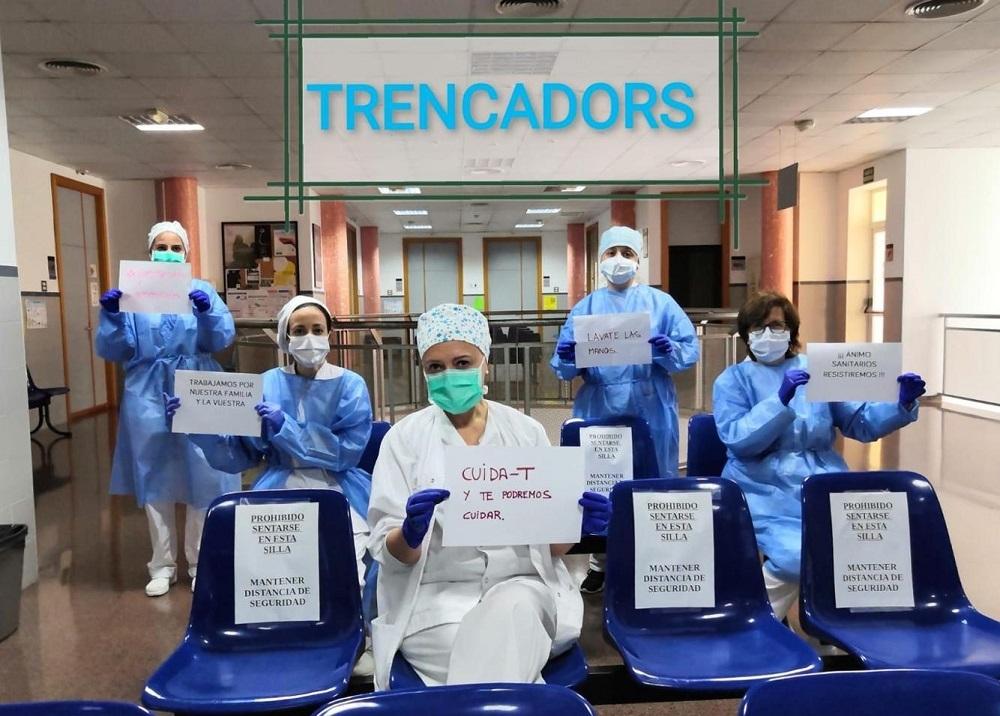 En Baleares hay 87 profesionales sanitarios que son positivos activos de Coronavirus