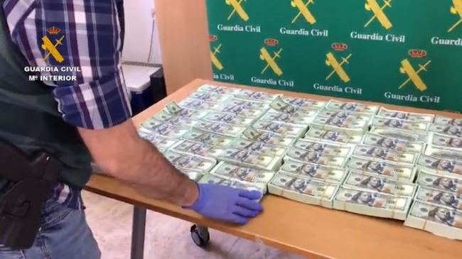 60 detenidos por estafar usando el timo de adelantar dinero para cobrar una herencia