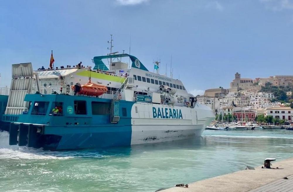 El Govern pagará 1,3 millones de euros a las navieras por el descuento de residente del primer trimestre de 2020