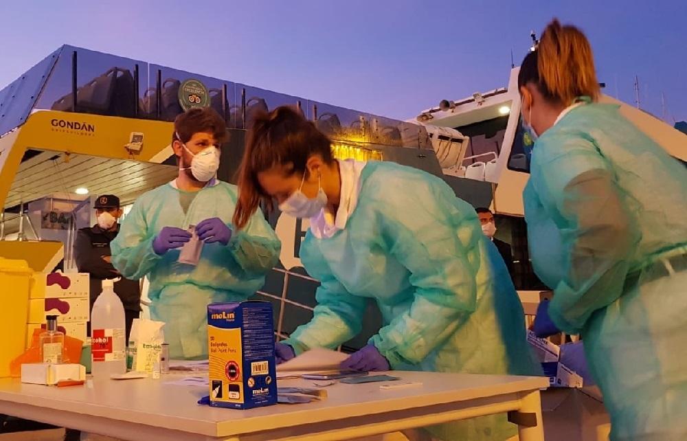 El Servicio de Epidemiología informa que en Baleares hay 225 casos positivos activos de SARS-CoV-2