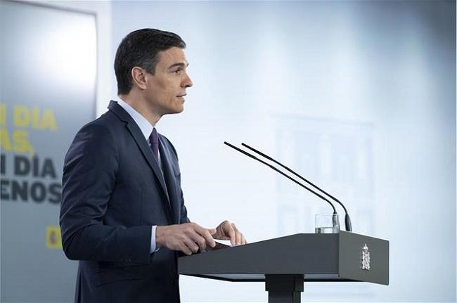 Pedro Sánchez: 'Queremos y debemos evitar recurrir a un nuevo confinamiento domiciliario'