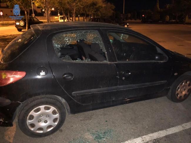 La Policía Nacional detiene a un hombre por múltiples robos con fuerza en el interior de vehículos