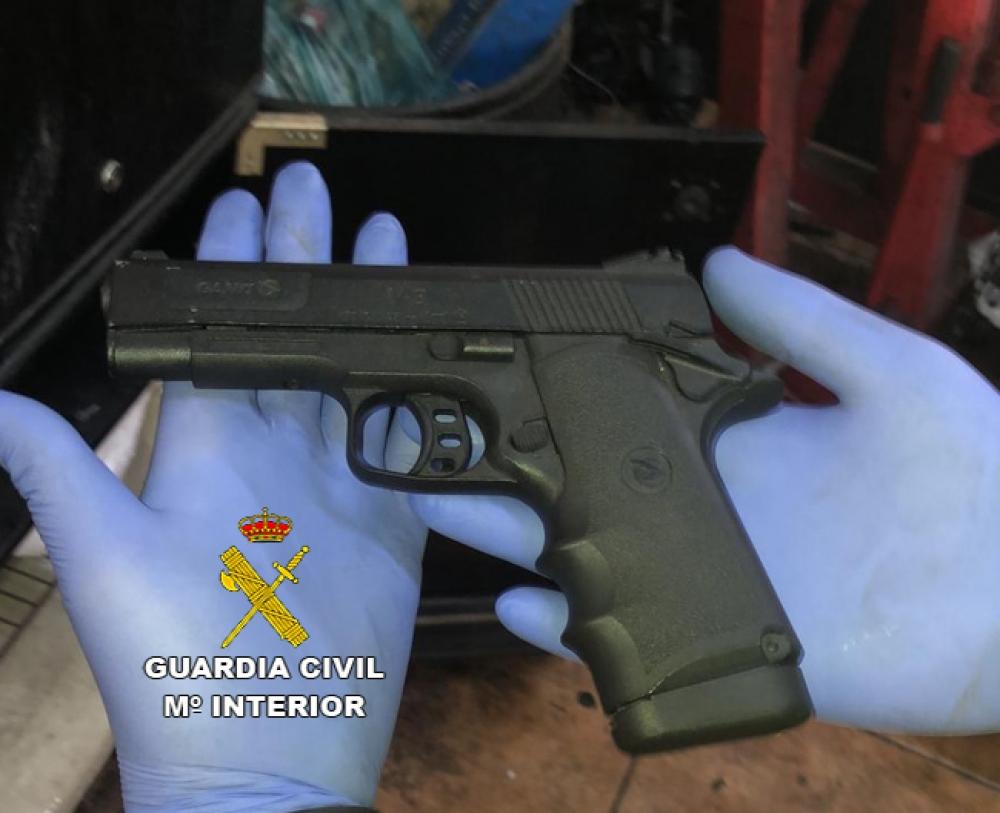 La Guardia Civil detiene a un hombre en Marratxí por amenazas con arma de fuego