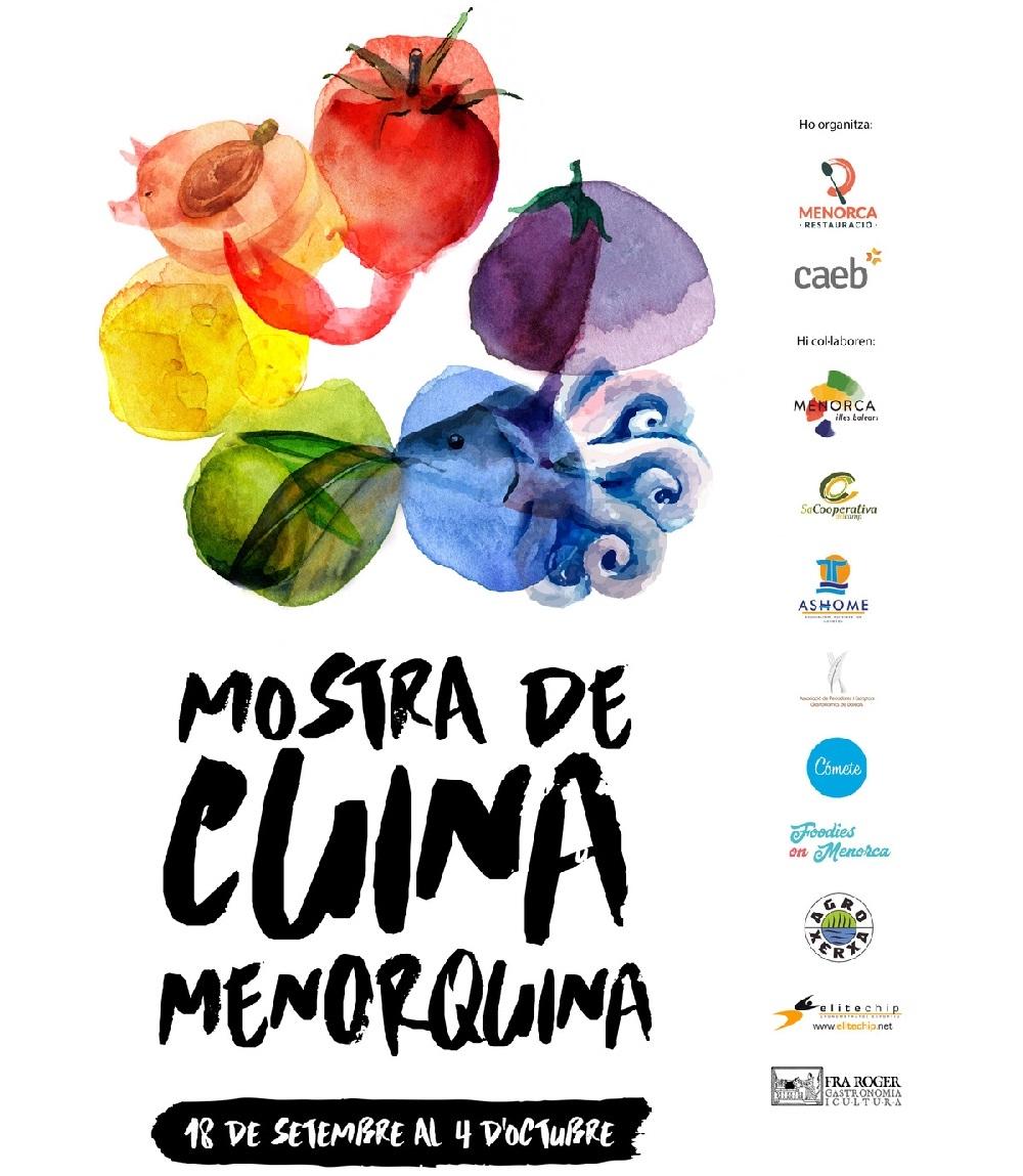 La Mostra de Cuina Menorquina se celebrará del 18 de setiembre al 4 de octubre en Menorca