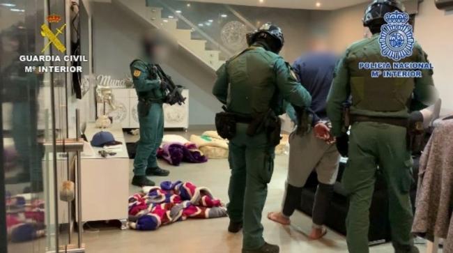Detenidos 36 miembros de un clan e incautan más de cuatro toneladas de hachís