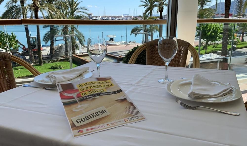 Los restauradores de Baleares trasladan al Gobierno de España sus reivindicaciones