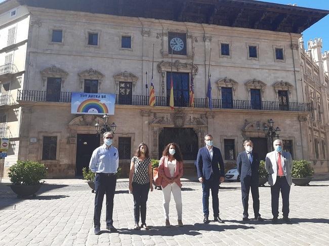 El Ayuntamiento de Palma y Autoridad Portuaria aprueban el convenio de colaboración para la remodelación del paseo Marítimo