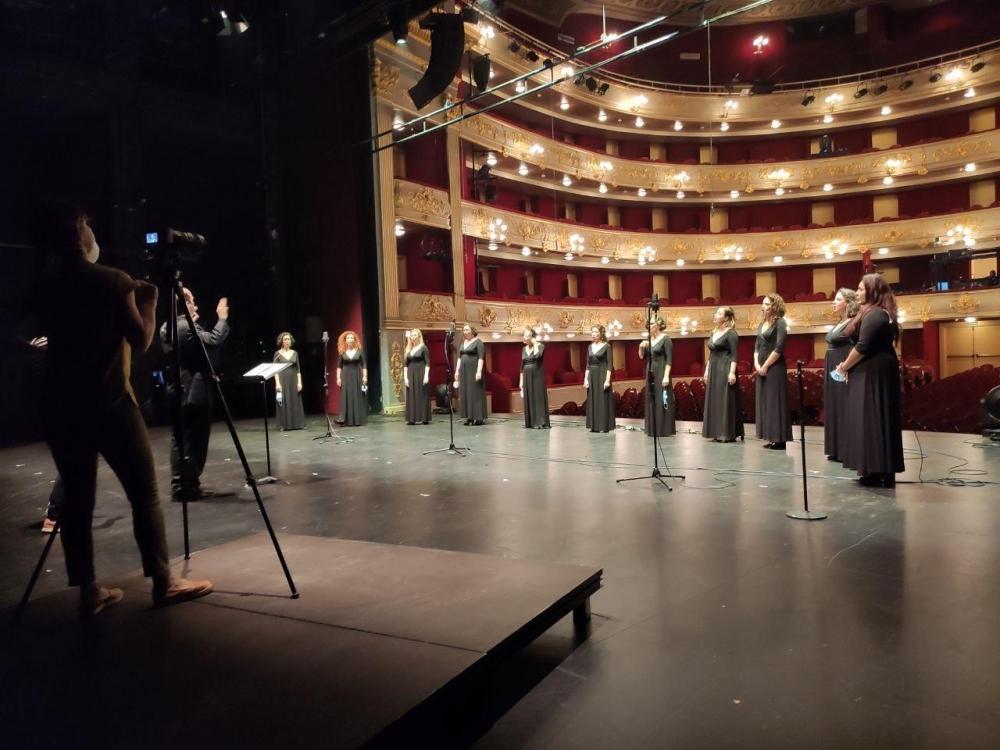 El Coro del Teatro Principal retoma la actividad como primer paso para la reapertura