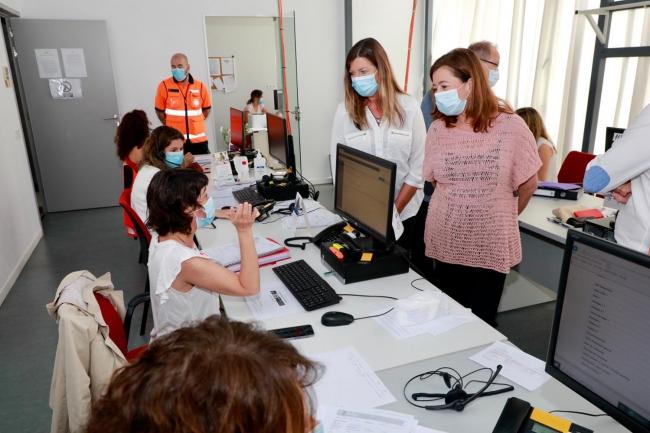 La Conselleria de Salud y Consumo informa que en Balears hay 128 casos activos de SARS-CoV-2
