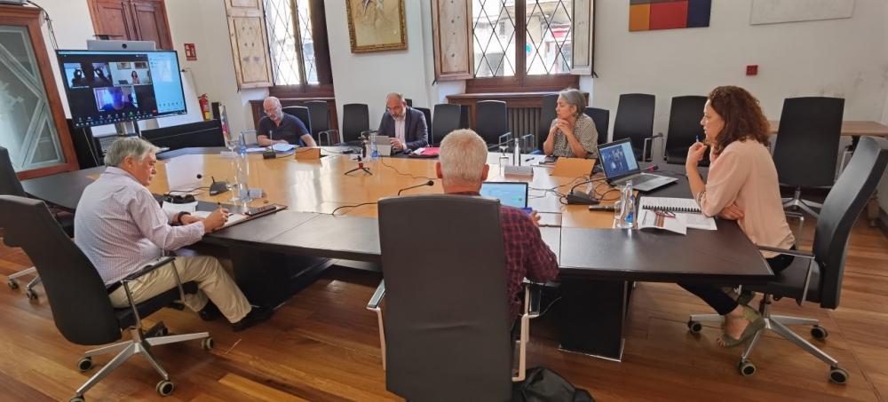 La presidenta Cladera presenta el plan 'Mallorca Reacciona' a los agentes sociales y económicos
