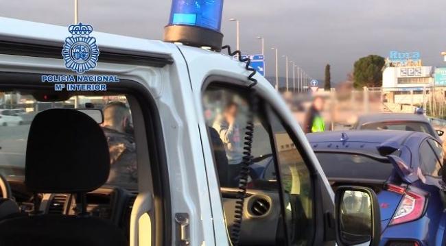 La Policía Nacional detiene a un hombre por agredir violentamente a su mujer en Palma