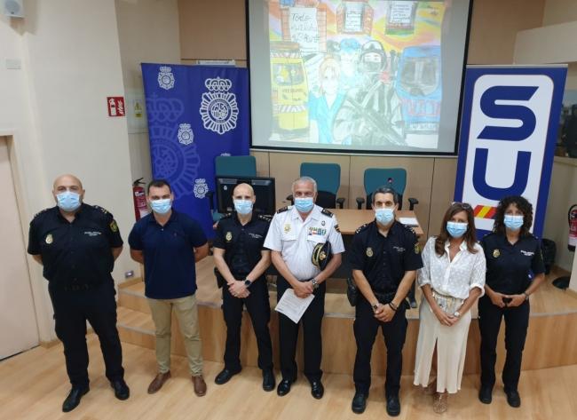 La Policía Nacional finaliza la campaña 'Dibujando Gratitud' con la presentación de los dibujos que han quedado en primer lugar
