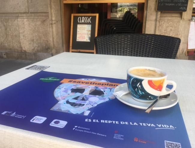 El Centre Balears Europa participa en la campaña #SaveThePlanet