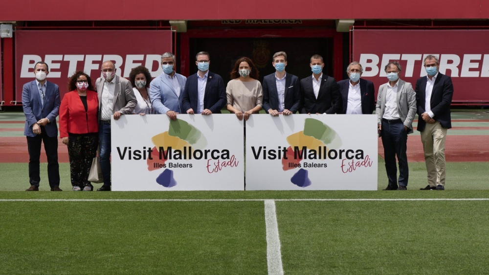 El Consell y el RCD Mallorca colaboran en el desarrollo de una acción de promoción turística