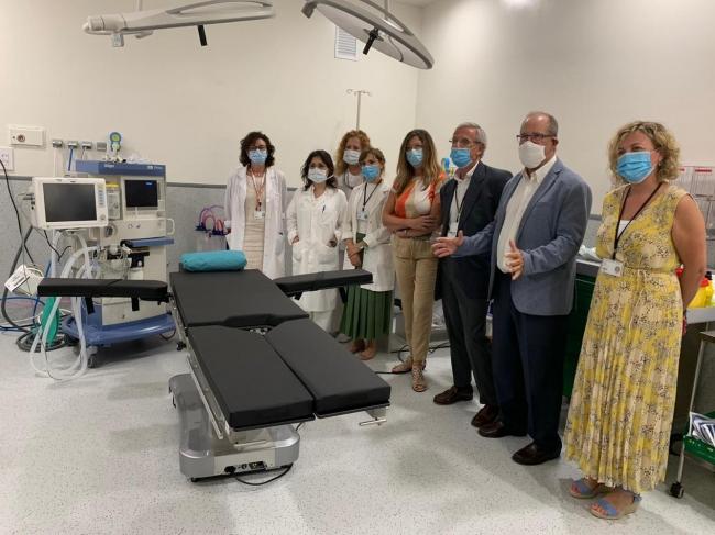 El Hospital Mateu Orfila estrena el nuevo gabinete para cirugías ambulatorias