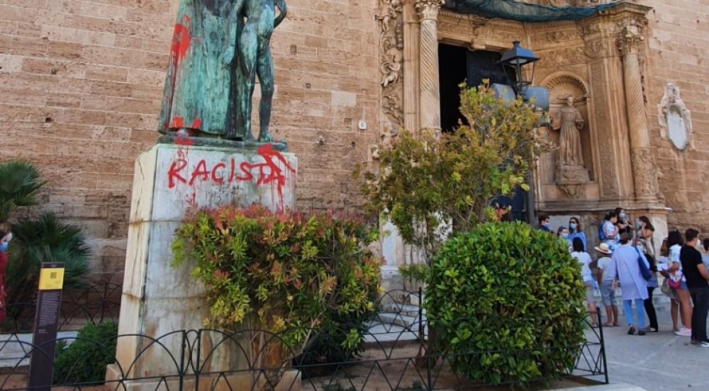 El PP pide también al Congreso que condene los ataques a la estatua de Fray Junípero Serra en Palma