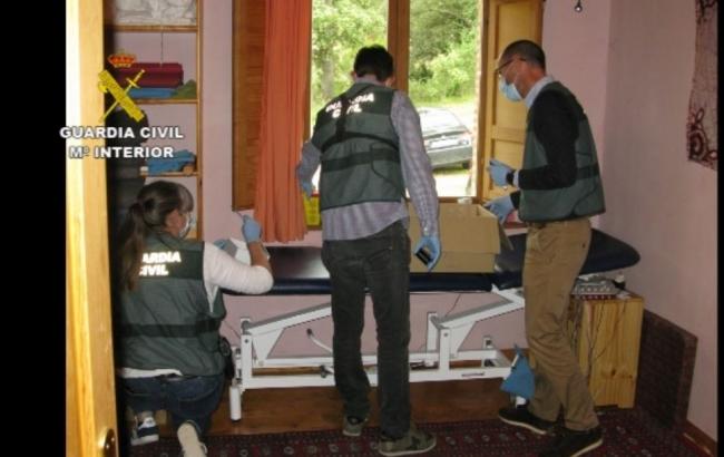 La Guardia Civil localiza a cuatro víctimas más del osteópata detenido en febrero por abusos sexuales