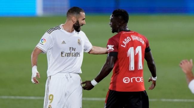 El RCD Mallorca pierde ante el Real Madrid (2-0)