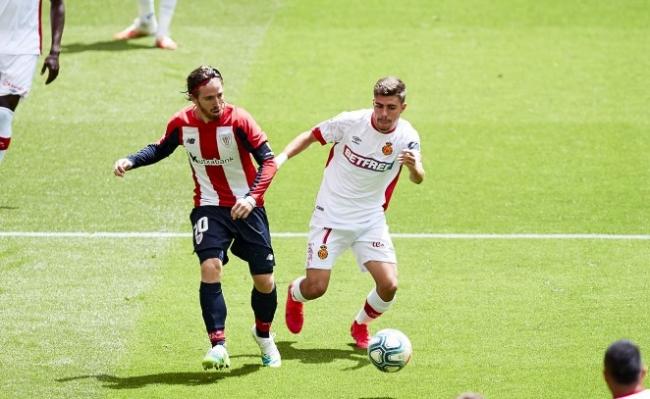 El RCD Mallorca sigue cayendo, esta vez ante el Athletic Club (3-1)