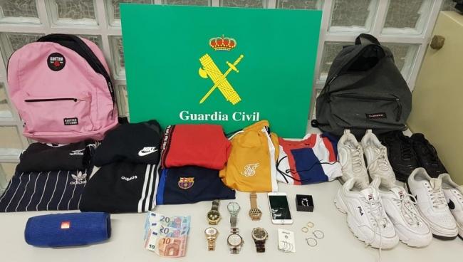 La Guardia Civil ha detenido a 6 jóvenes por robo en una vivienda de Marratxí