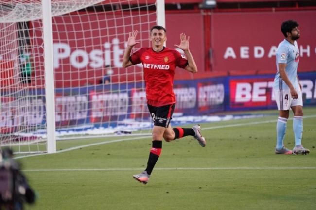 El RCD Mallorca golea al RC Celta en el Visit Mallorca Estadi (5-1)
