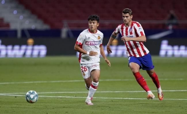 El RCD Mallorca cae ante el Atlético de Madrid (3-0)