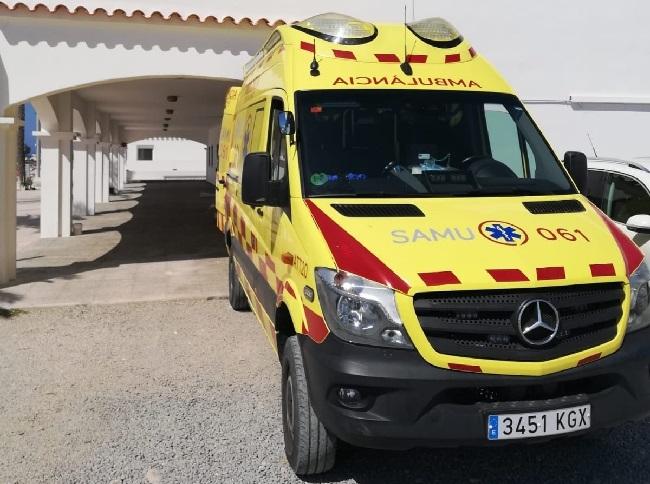 Inicia la actividad la segunda ambulancia del SAMU 061 en Formentera