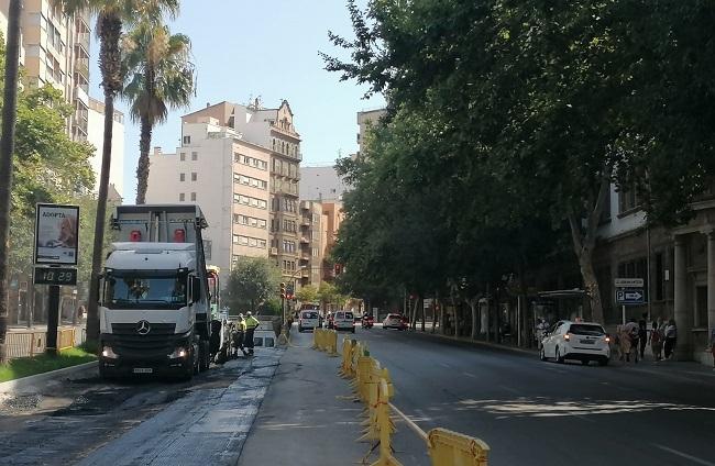 Palma reabre al tráfico el túnel de avenidas