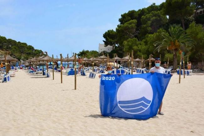 El municipio de Santanyí ya tiene  sus banderas Azules