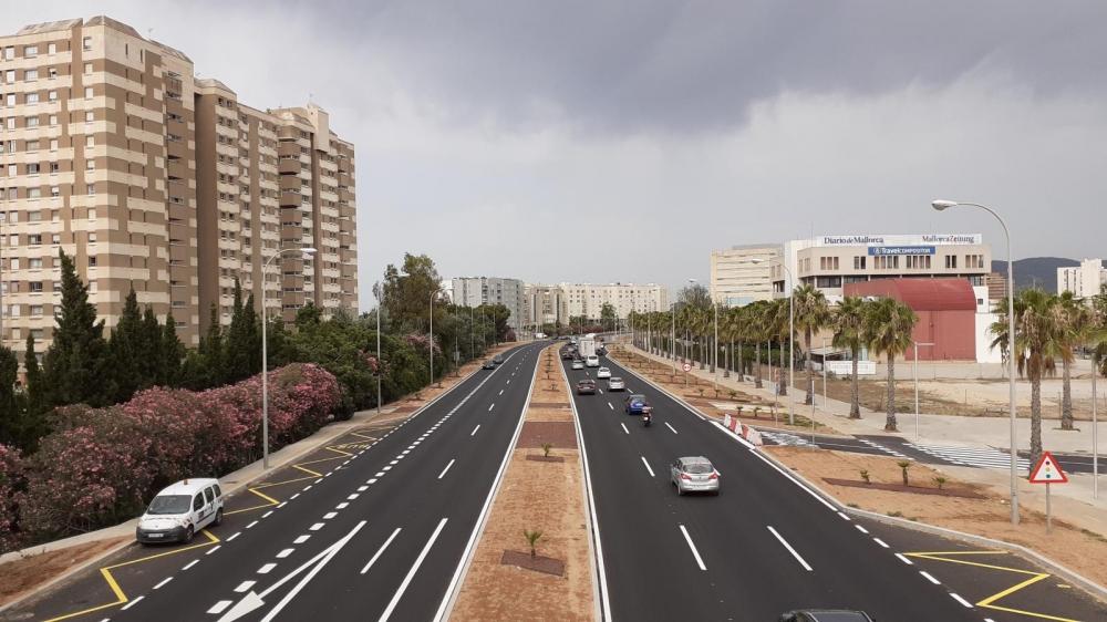 El Consell culmina las obras del bulevard del Palacio Congresos