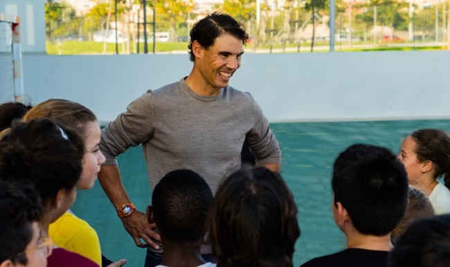 La Fundación Rafa Nadal cumple 10 años promoviendo el deporte como herramienta para el desarrollo personal y social