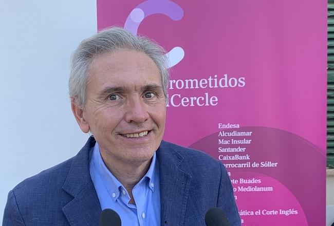 José María Vicens es reelegido como presidente del Cercle d'Economia de Mallorca