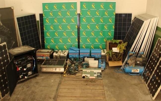 La Guardia Civil esclarece siete robos en término municipal de Santanyí y de Felanitx