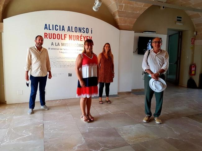 El Consell de Mallorca rememora el 30 aniversari de l'actuació d'Alicia Alonso i Rudolf Nuréyev a la Misericòrdia