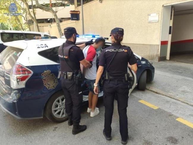 La Policía Nacional de Palma detiene a un joven por tentativa de homicidio