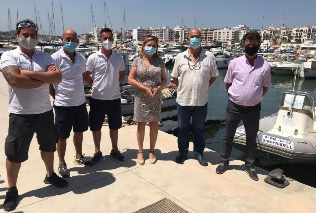 Pesca presenta en Eivissa la primera embarcación que dispone la isla para la vigilancia de las reservas marinas