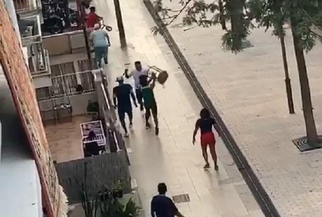 La Guardia Civil detiene a tres personas que participaron en una pelea con cuchillos