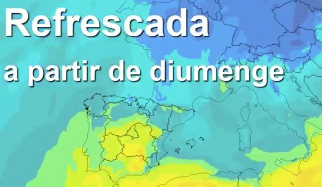Este domingo bajan las temperaturas en Baleares